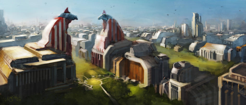 Talon City by SlimeySquid