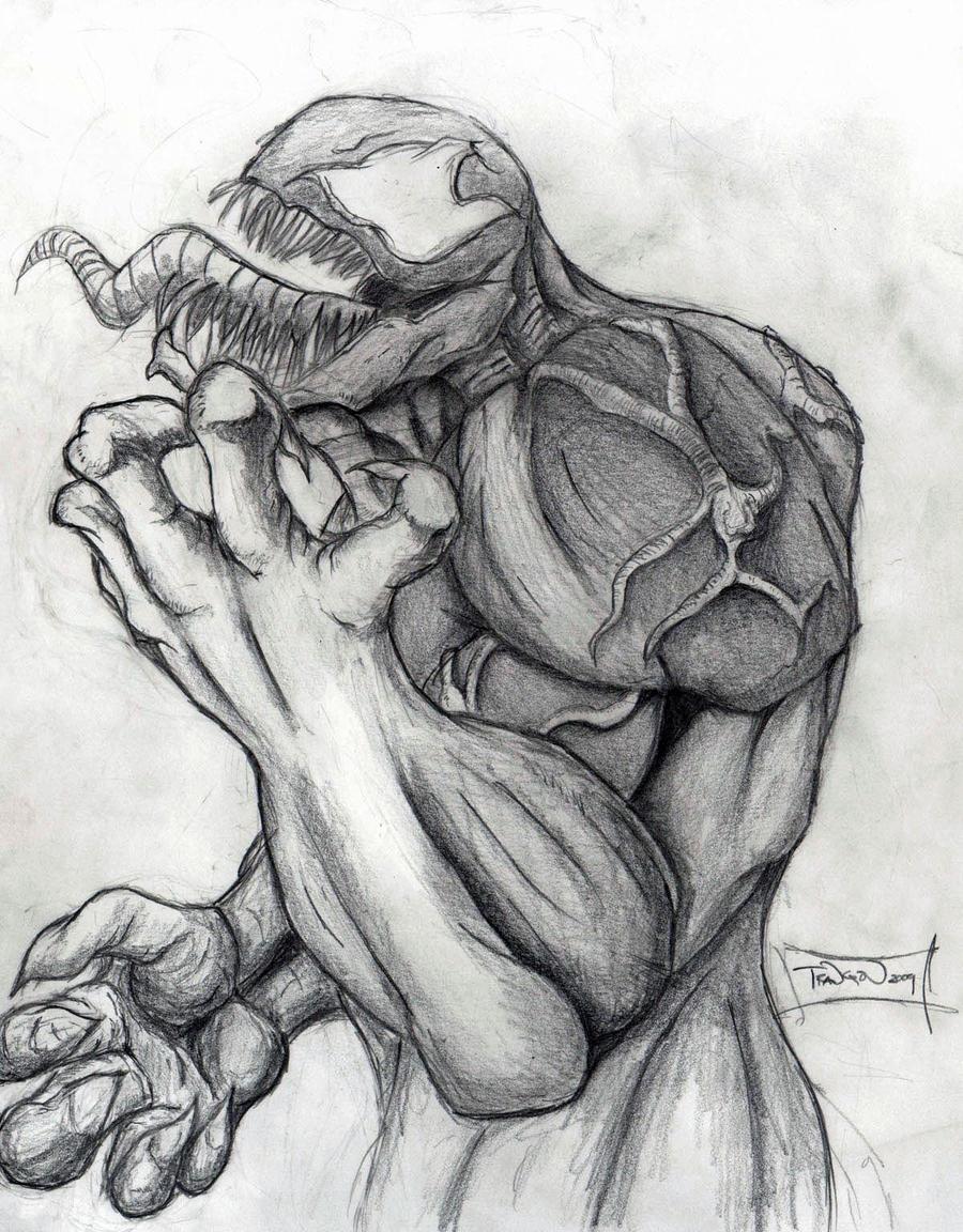 Venom - Pencils by Arukun14