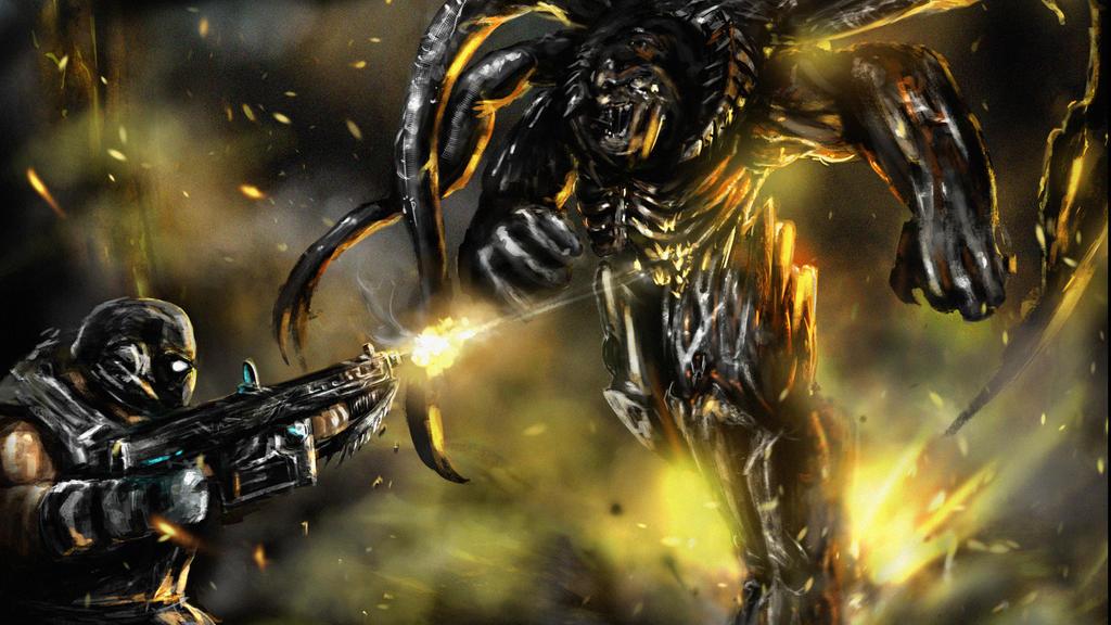 Lambent Berserker by Arukun14