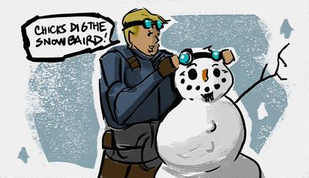 Gearsmas 2012 - Snowman Baird