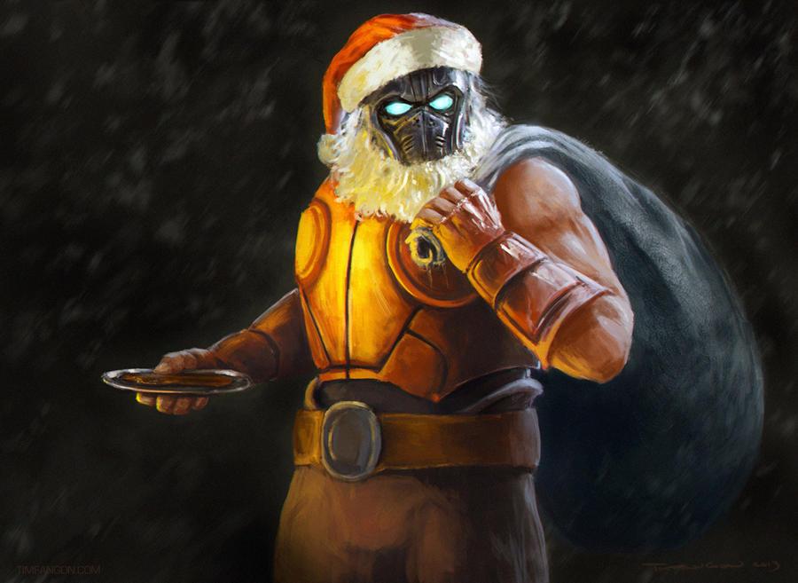 Santa Carmine by Arukun14