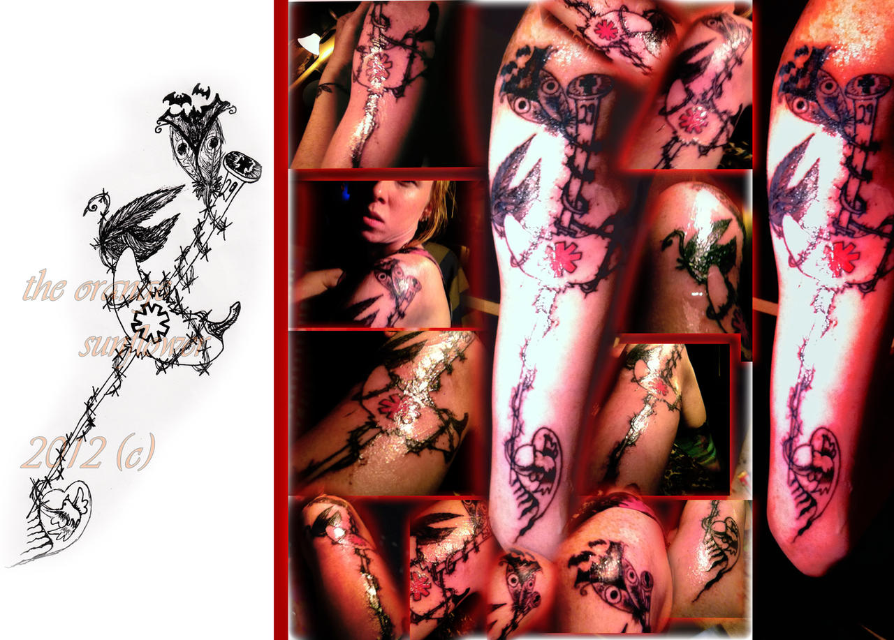 'Transcending Music' Tattoo by theOrangeSunflower