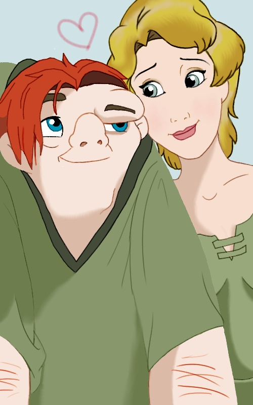 Quasimodo And Madellaine Quasi and Madel...