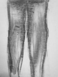Study of a Man's Legs by AnimeV