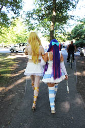 Sisters - Panty and Stocking by stephinika