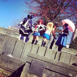 Fairy Tail Cosplay - Sakura Con 2013 by stephinika