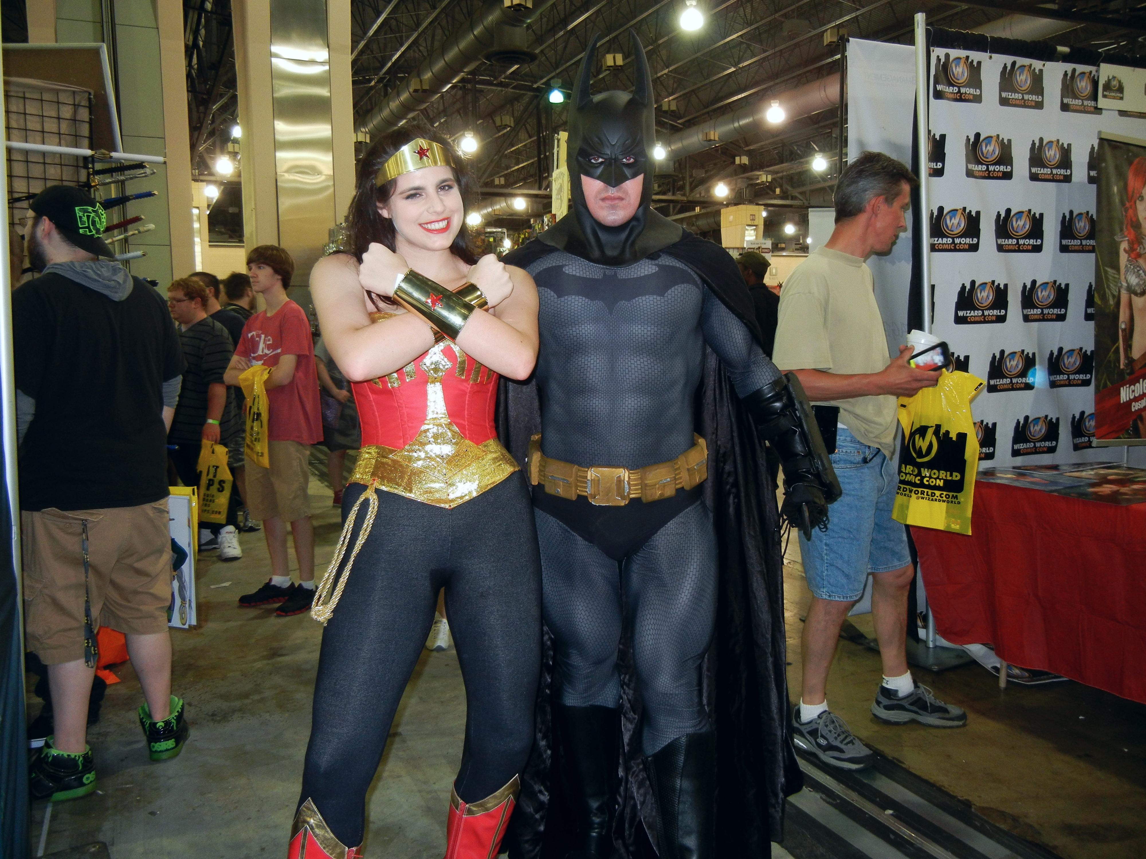 Wonder Woman and Batman by Rubbish78