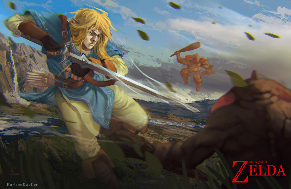 The Legend of Zelda: Breath of the Wild by HorizonDweller
