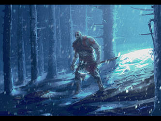 God of War by HorizonDweller