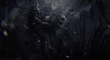 dark warmup Sketch by HorizonDweller