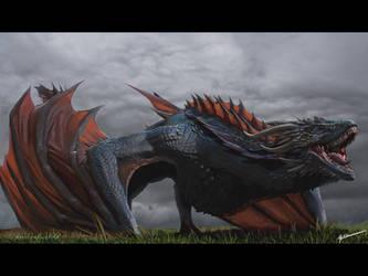 Drogon  by HorizonDweller