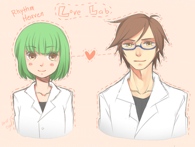 Love Lab scientists by UchiHaruno