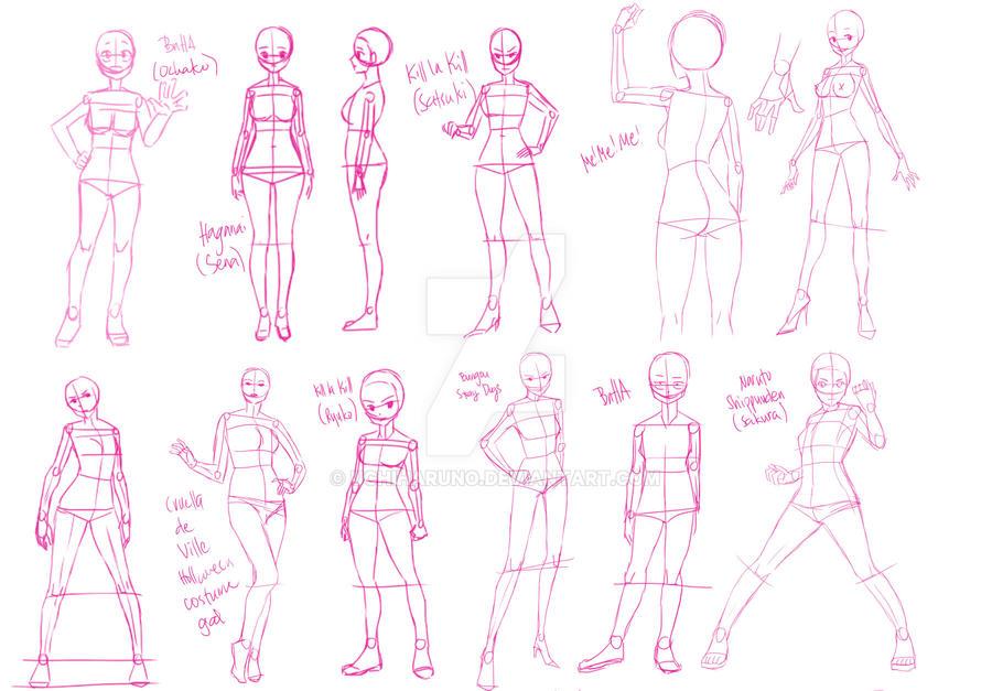 Pose study 1 by UchiHaruno
