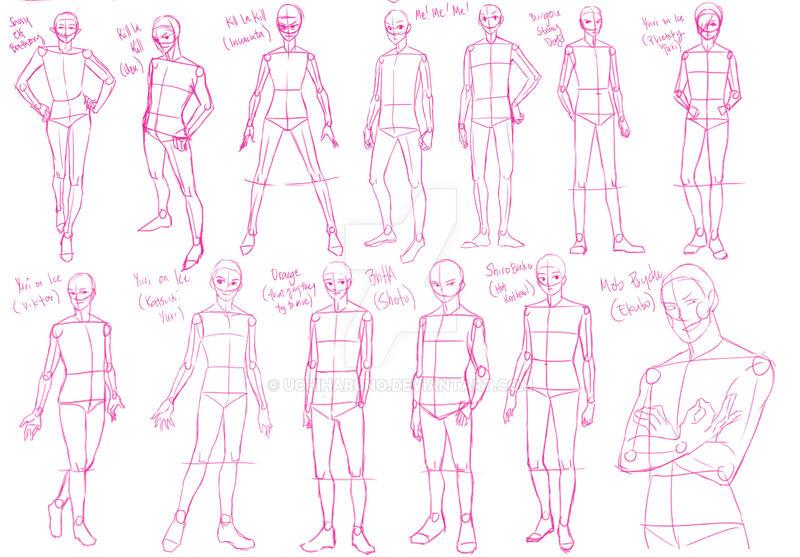 Pose study 2 by UchiHaruno