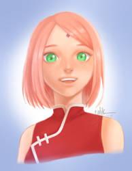 Sakura Haruno by UchiHaruno