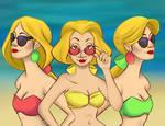 Beach Bimbettes