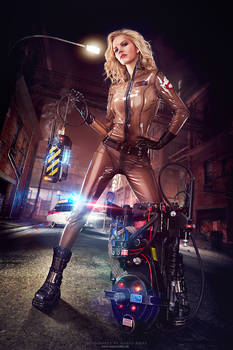 Ghostbusters Latex Cosplay