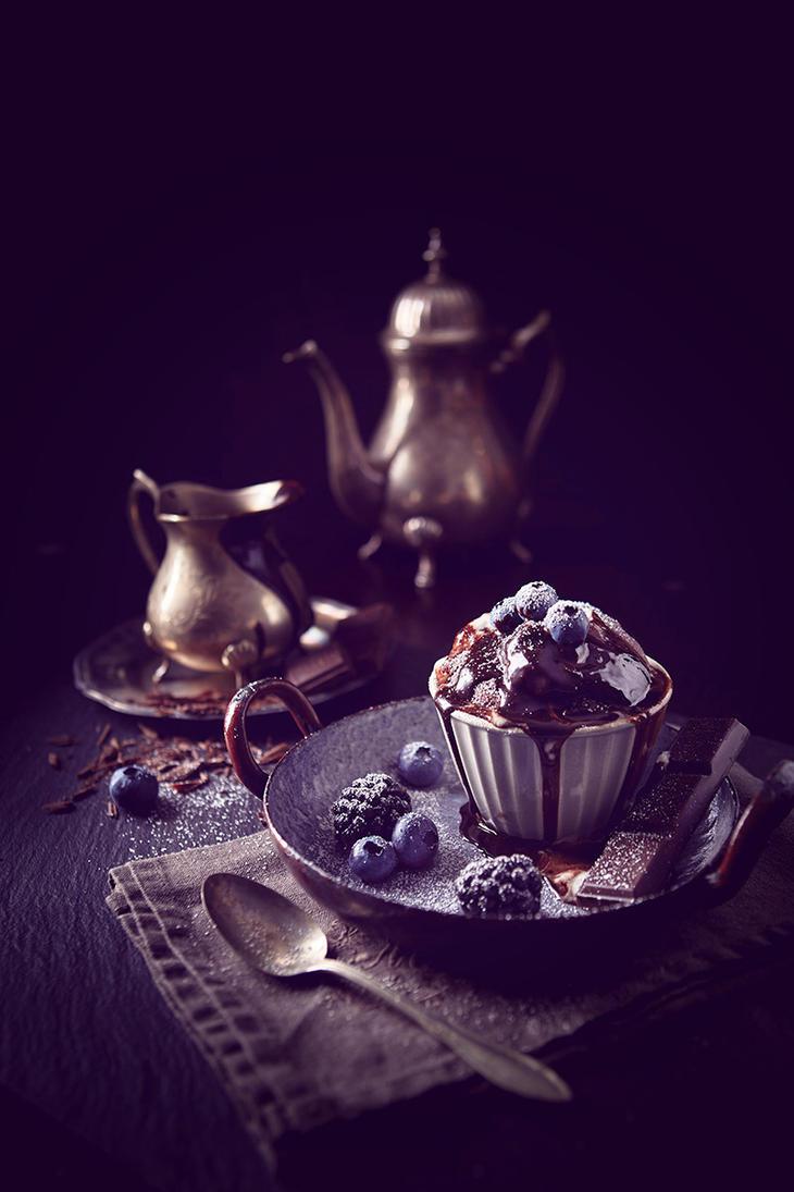 Chocolate Lava Cake by MarcoRibbe-de