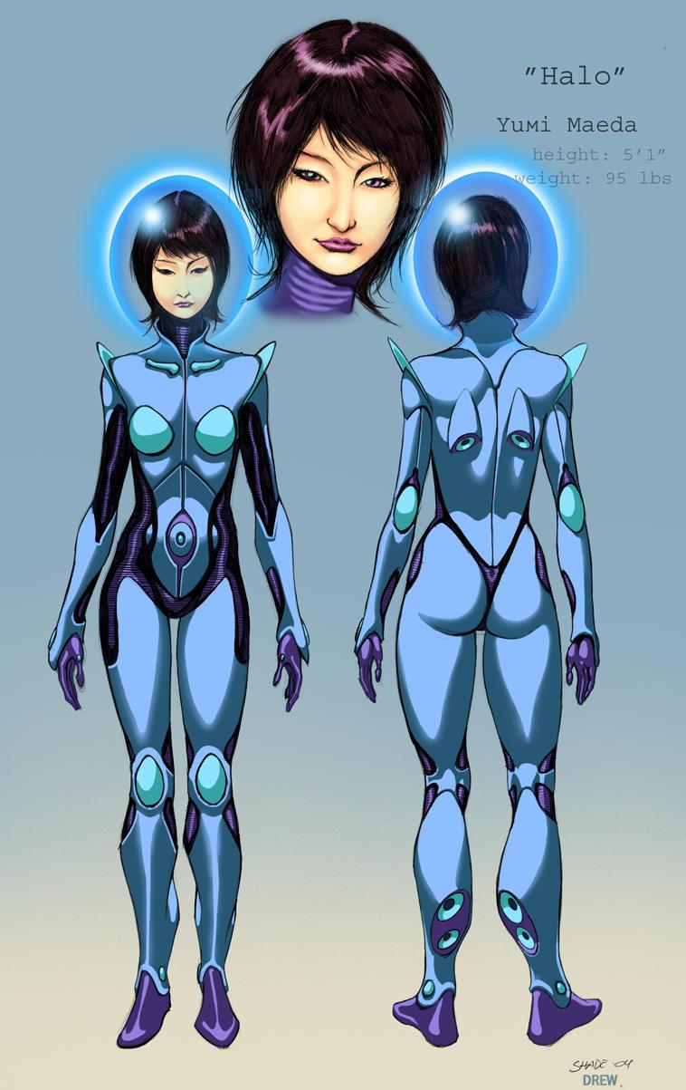 Halo Modelsheet by DrewGardner