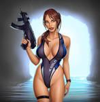Lara Croft - Cave Diver
