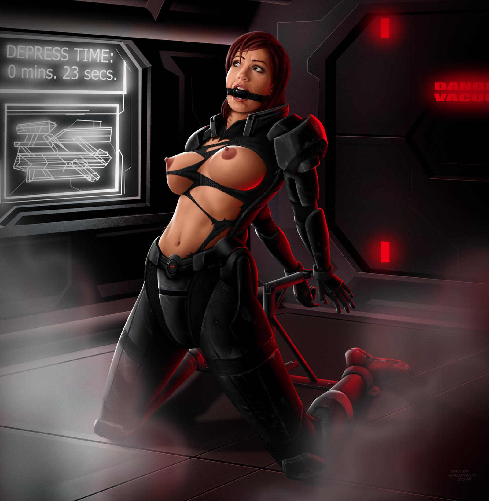 mass effect bdsm