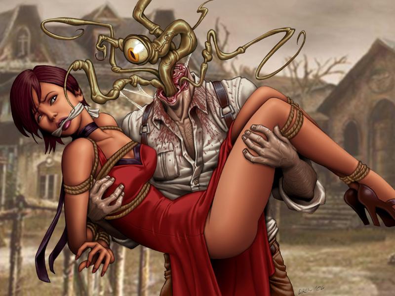 Bride of Plagus Gagged Desktop by DrewGardner