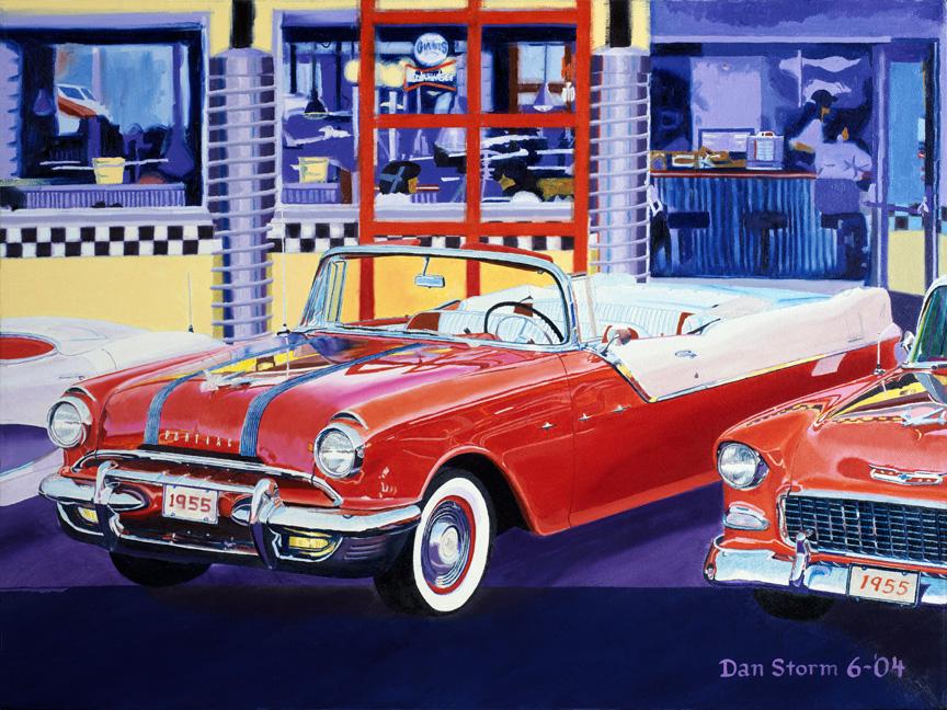 Canvas Painting Pontiac Mi