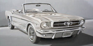 1965 Ford Mustang Oil RawUmber