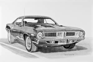 1972 Barracuda Graphite