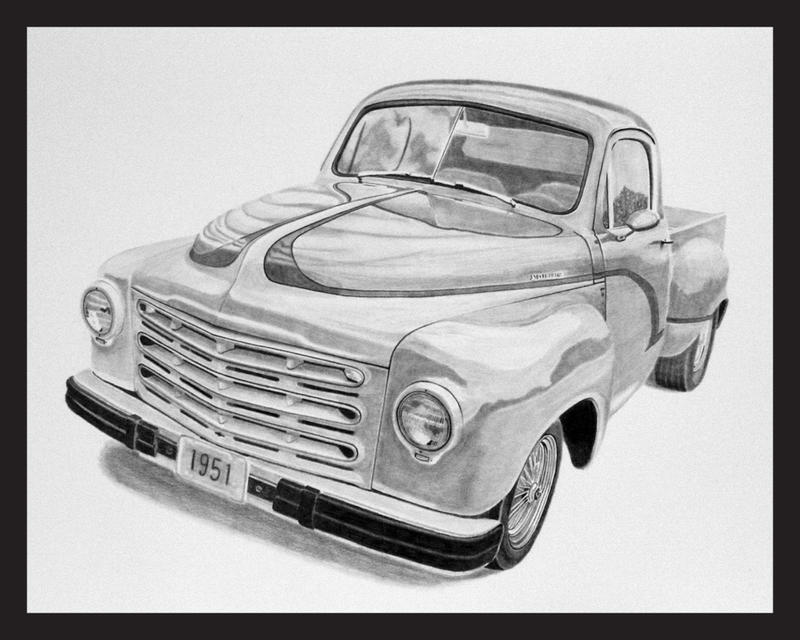 1951 Studebaker PickupGraphite by Daniel-Storm
