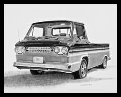 1961 Corvair Rampside Graphite