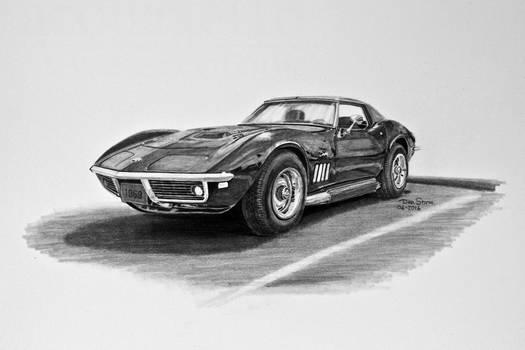 1969 Chevrolet Corvette Stingray Graphite