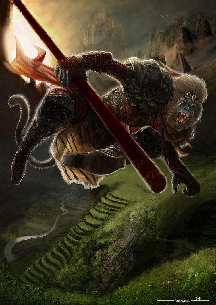 Rey Mono by padraven