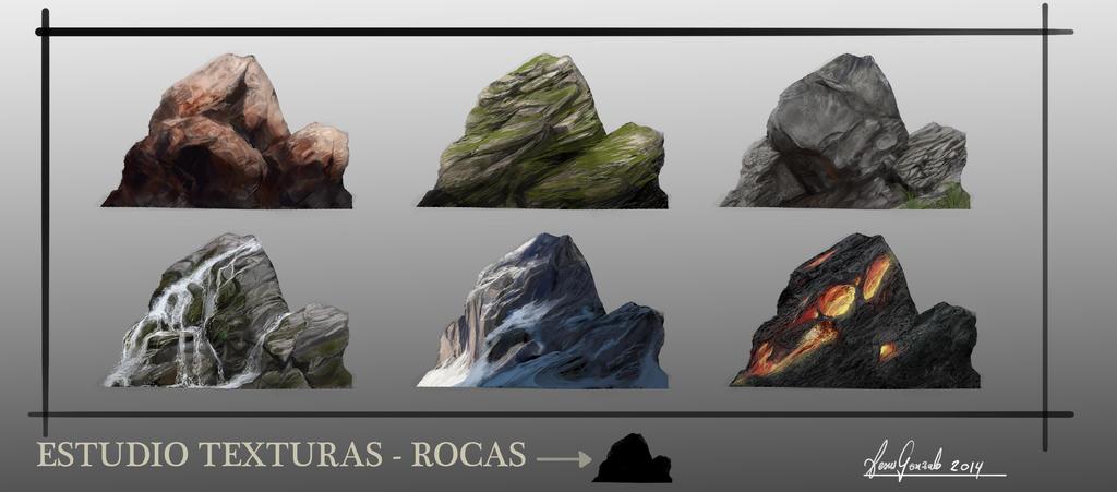 Texturas De Piedra by padraven