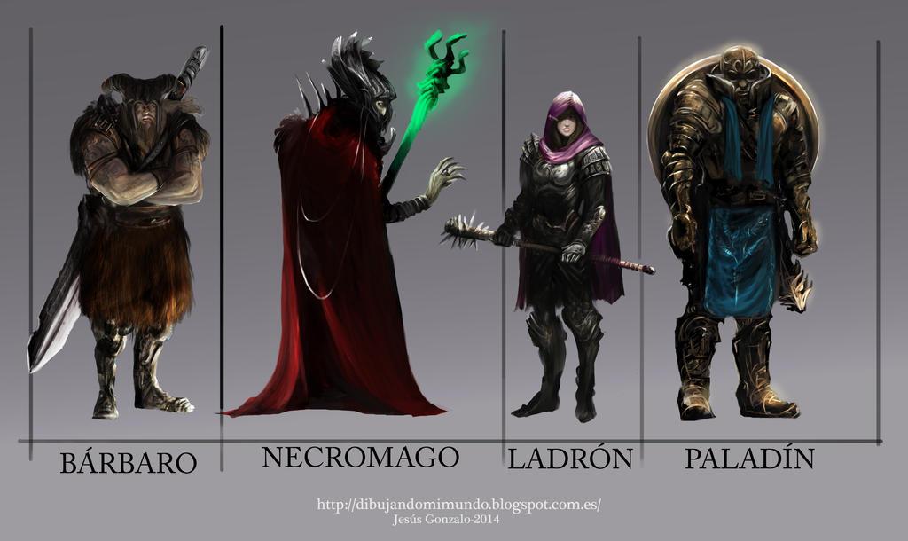 Listado Personajes by padraven