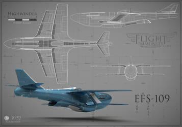 No.93 - EFS-109 Highwinder by kozzzlove