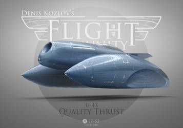 No.104 (part 2) - U-43 Quality Thrust by kozzzlove