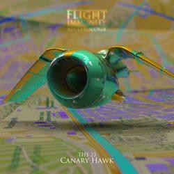 MYTHOLOGY: THS-23 Canary Hawk by kozzzlove