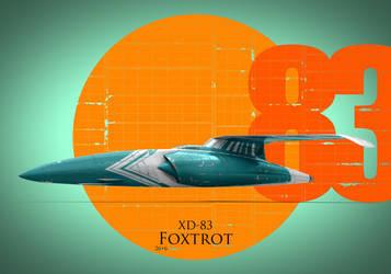 No.115 - XD-83 Foxtrot by kozzzlove