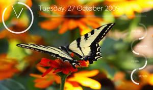 Conky Widgets + Butterfly