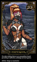 Trading Card 2: Enforcer by LessRuth