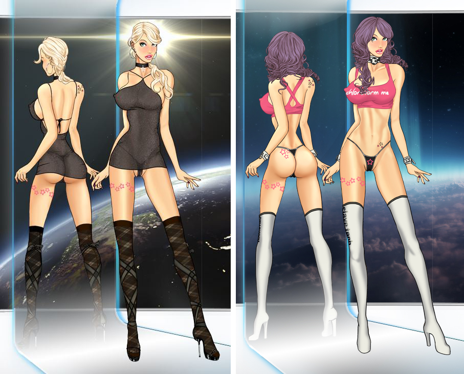 Milla Automata V9 outfits 1 by LessRuth