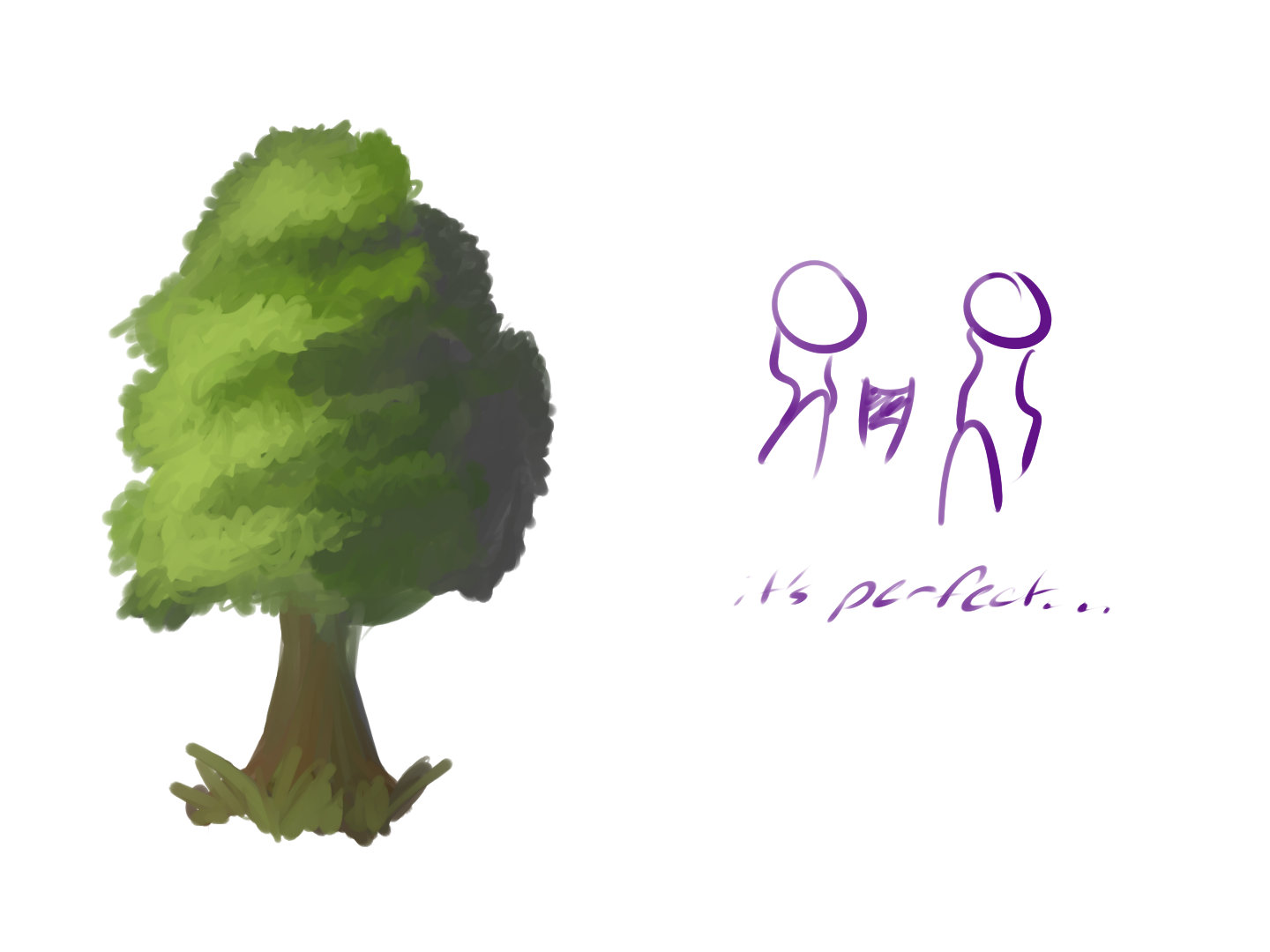 Uncategorized How To Draw A Perfect Tree when you draw the perfect tree for first time by gumbochu on gumbochu