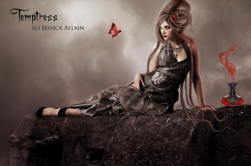 Temptress by EnchantedWhispersArt