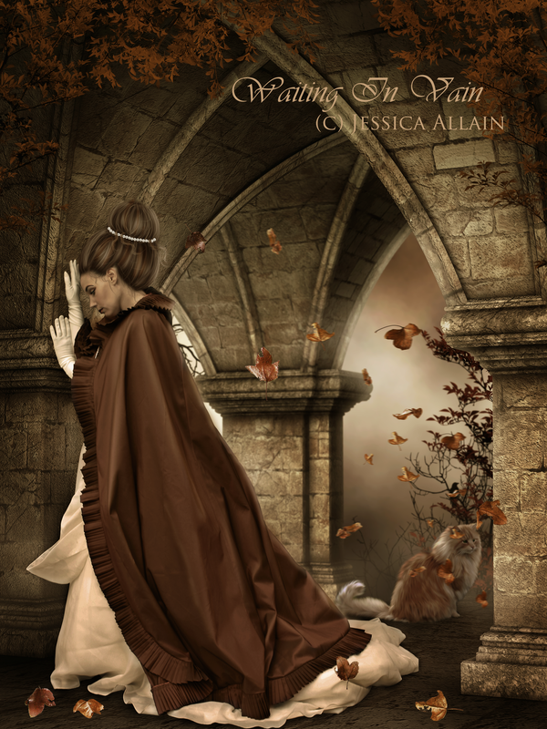 Waiting in Vain by EnchantedWhispersArt