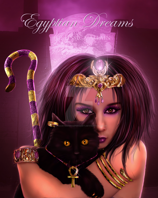 Egyptian Dreams by EnchantedWhispersArt
