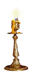 Candle Stick by EnchantedWhispersArt