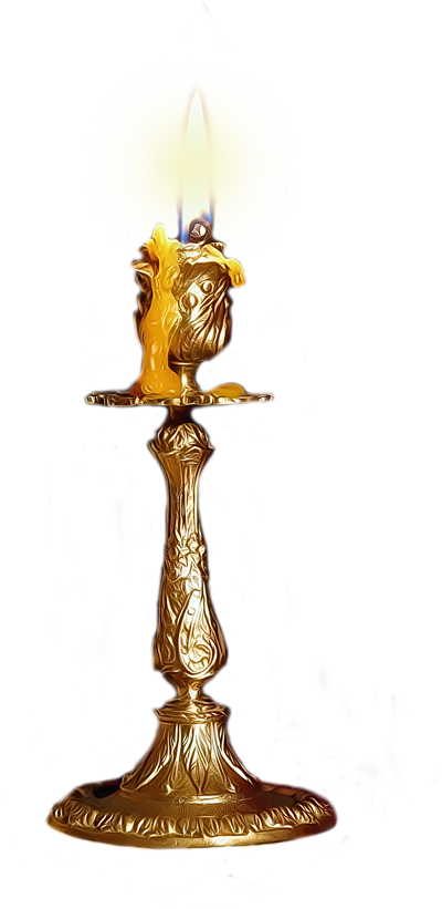 Candle Stick by EnchantedWhispersArt