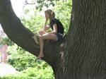 girl in tree 2
