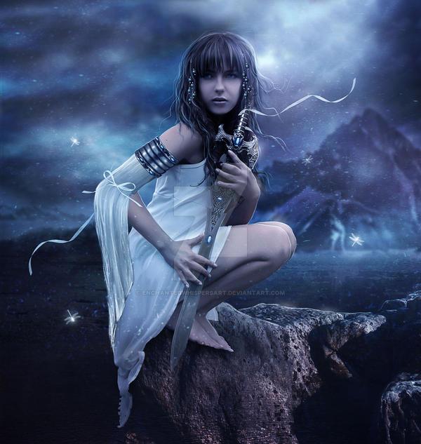Warrior Princess by EnchantedWhispersArt